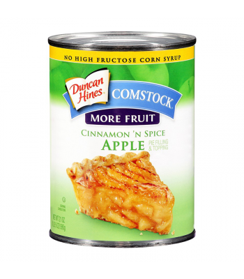 Duncan Hines Comstock Cinnamon N Spice Apple Fruit Flilling 21oz (595g) Food and Groceries