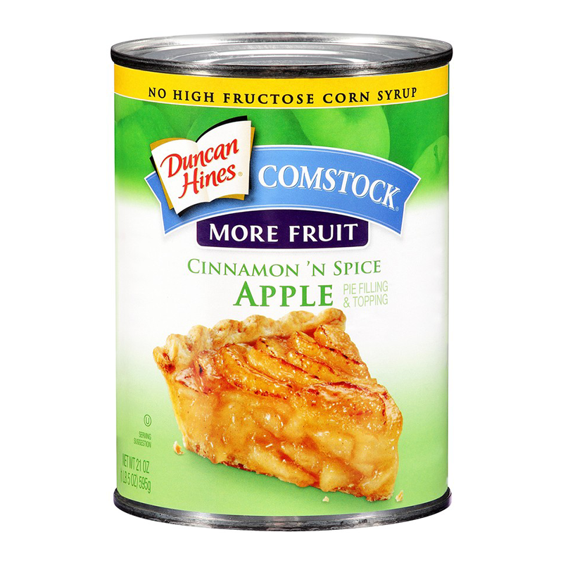 Duncan Hines Spice Cake With Apple Pie Filling