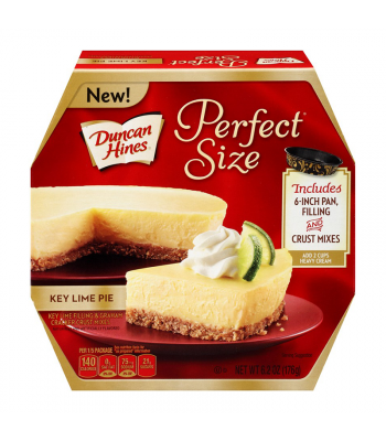 Duncan Hines Perfect Size Key Lime Pie - 6.2oz (176g) Food and Groceries Duncan Hines