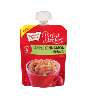 Clearance Special - Duncan Hines Perfect Size For One Apple Cinnamon Drizzle 4.4oz (127g) **Best Before: 19 January 2019** Clearance Zone