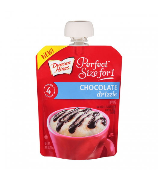 Duncan Hines Perfect Size For One Chocolate Drizzle 4.6oz (133g) Food and Groceries Duncan Hines