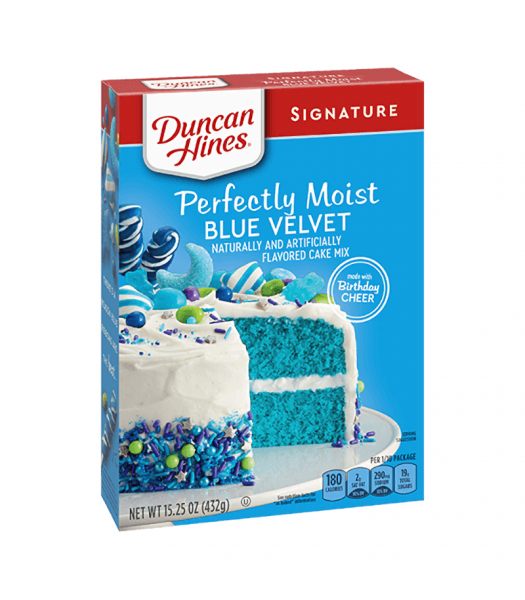 Duncan Hines Blue Velvet Cake Mix 15.25oz (433g) Food and Groceries Duncan Hines