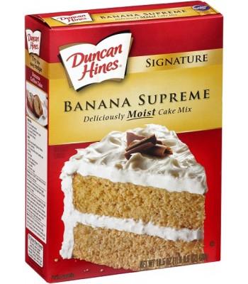 Duncan Hines Signature Banana Supreme Cake Mix 468g Baking & Cooking Duncan Hines