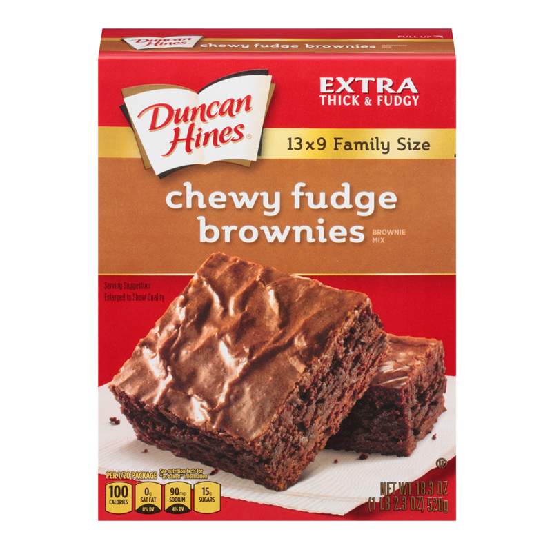 How To Make Brownies From Cake Mix Duncan Hines