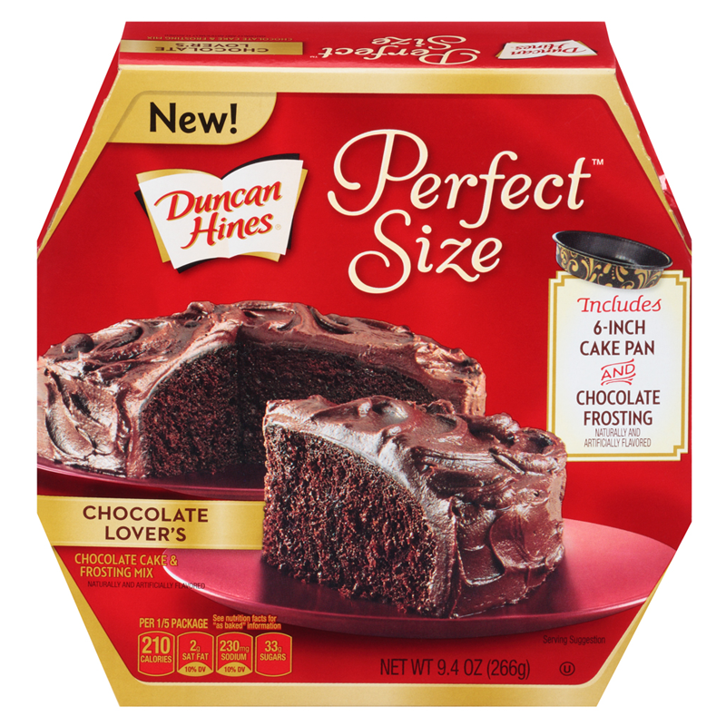 Duncan Hines Chocolate Lovers Cake
