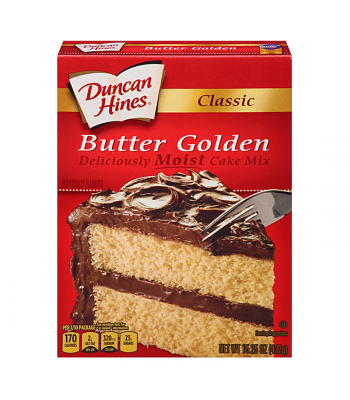 Duncan Hines Classic Butter Golden Cake Mix 15.25oz (432g) Food and Groceries