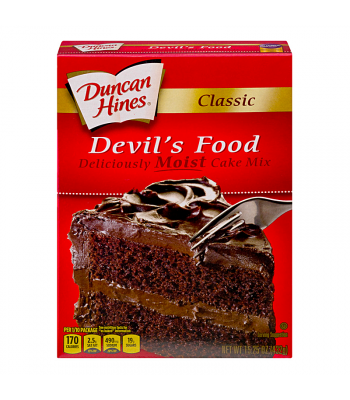 Duncan Hines Classic Devil's Food Cake Mix 15.25oz (432g) Baking & Cooking Duncan Hines