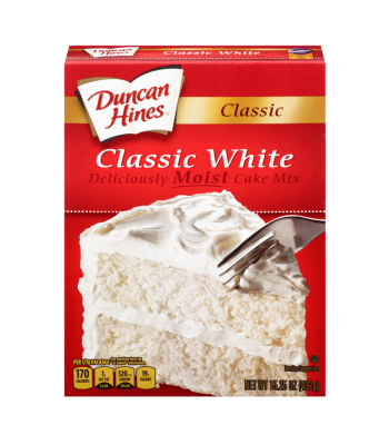 Duncan Hines Classic White Cake Mix 15.25oz (432g) Baking & Cooking Duncan Hines