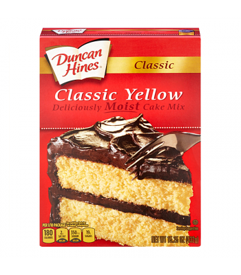 Duncan Hines Classic Yellow Cake Mix 15.25oz (432g) Baking & Cooking Duncan Hines