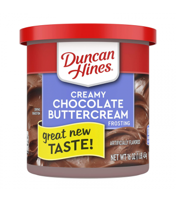 Duncan Hines Creamy Chocolate Buttercream Frosting - 16oz (454g)