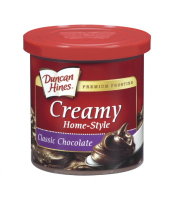 Duncan Hines Creamy Classic Chocolate Frosting 16oz (454g) Food and Groceries Duncan Hines