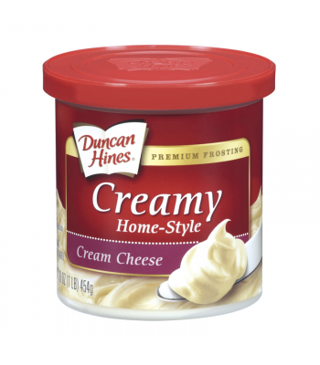 Duncan Hines Creamy Cream Cheese Frosting 16oz (454g) Food and Groceries