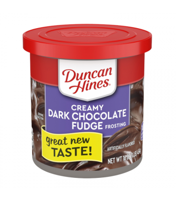 Duncan Hines Creamy Dark Chocolate Fudge Frosting 16oz (454g) Food and Groceries Duncan Hines