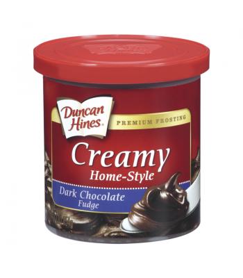 Duncan Hines Creamy Dark Chocolate Fudge Frosting 16oz (454g) Baking & Cooking Duncan Hines