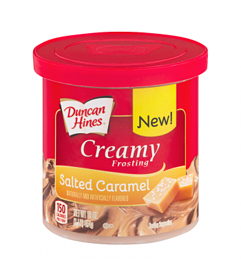 Duncan Hines Creamy Salted Caramel Frosting 16oz (454g) Food and Groceries Duncan Hines