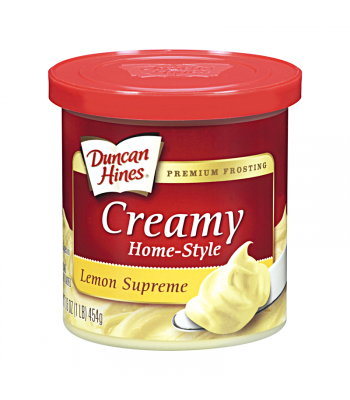Duncan Hines Creamy Lemon Supreme Frosting 16oz (454g) Food and Groceries Duncan Hines
