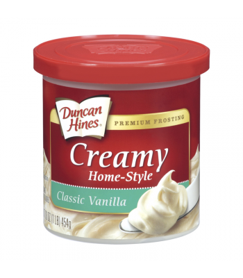 Duncan Hines Creamy Classic Vanilla Frosting 16oz (454g) Baking & Cooking Duncan Hines