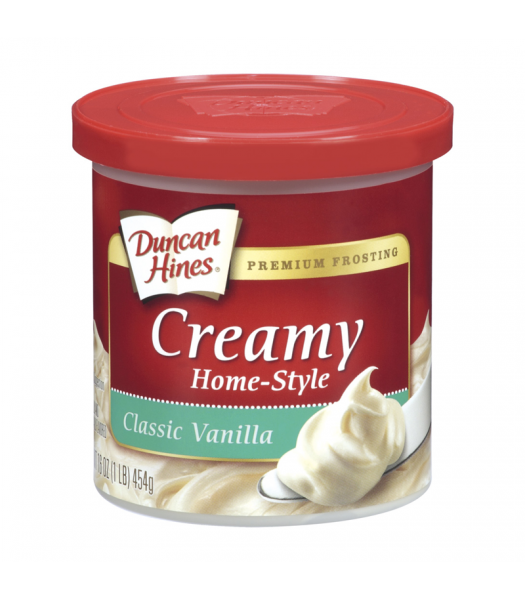 Duncan Hines Creamy Classic Vanilla Frosting 16oz (454g) Food and Groceries Duncan Hines