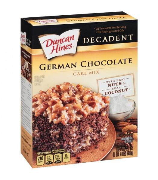 Duncan Hines Decadent Cake Mix German Chocolate