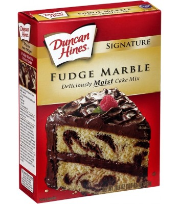 Duncan Hines Fudge Marble Cake Mix 16.5oz (468g) Baking & Cooking Duncan Hines