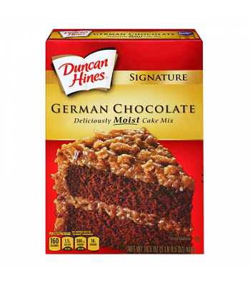 Duncan Hines Signature German Chocolate Cake Mix 15.25oz (432g) Food and Groceries Duncan Hines