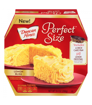 Clearance Special - Lemon Bliss Perfect Size Cake Mix 9.4oz ** Best Before February 2017 ** Clearance Zone