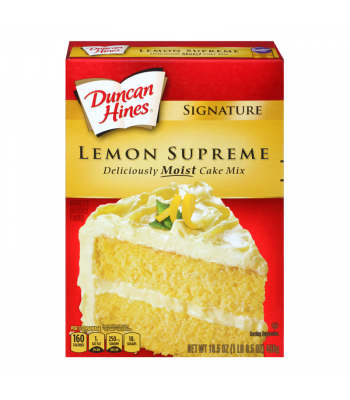Duncan Hines Signature Lemon Supreme Cake Mix 15.25oz (432g) Food and Groceries Duncan Hines