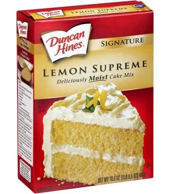 Duncan Hines Signature Lemon Supreme Cake Mix 468g Baking & Cooking Duncan Hines
