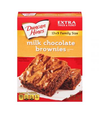 Duncan Hines Milk Chocolate Brownie Mix 18oz (510g) Baking & Cooking Duncan Hines