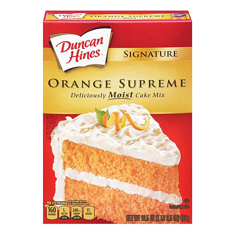 Orange Supreme Cake Mix