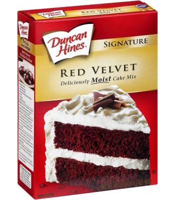 Duncan Hines Blue Velvet Cake Mix Cookies