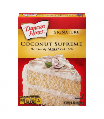 Duncan Hines Signature Coconut Cake Mix - 15.25oz