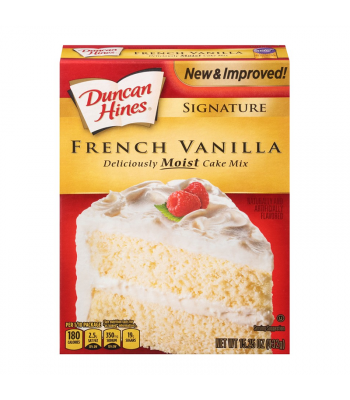 Duncan Hines Signature French Vanilla Cake Mix - 15.25oz