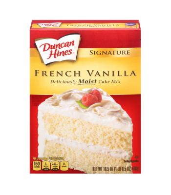 Duncan Hines Signature French Vanilla Cake Mix 16.5oz (468g) Baking & Cooking Duncan Hines