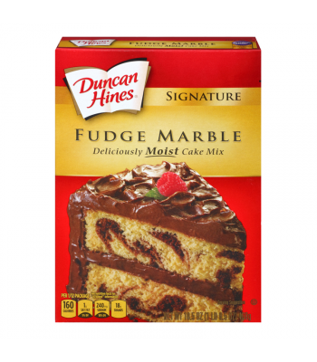 Duncan Hines Fudge Marble Cake Mix 15.25oz (432g) Food and Groceries Duncan Hines
