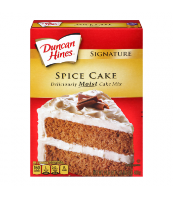 Duncan Hines Signature Spice Cake Mix 16.5oz (468g) Baking & Cooking Duncan Hines