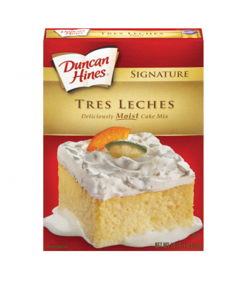Duncan Hines Signature Tres Leches Cake Mix 14.18 oz (402g) Box Baking & Cooking Duncan Hines