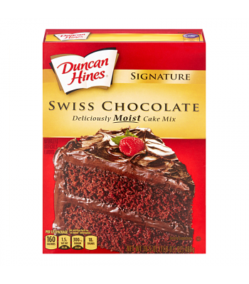 Duncan Hines Signature Swiss Chocolate Cake Mix 15.25oz (432g) Food and Groceries Duncan Hines