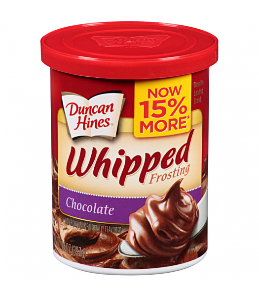 Duncan Hines Whipped Chocolate Frosting 14oz (397g) Baking & Cooking Duncan Hines