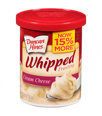 Duncan Hines Whipped Cream Cheese Frosting 14oz (397g) Baking & Cooking Duncan Hines