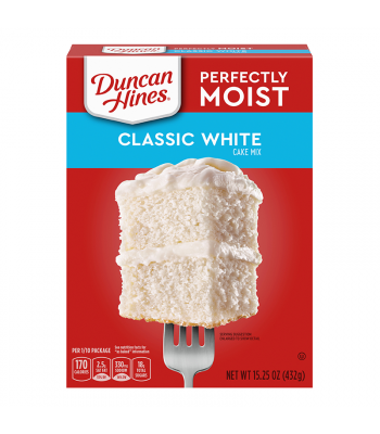 Duncan Hines Perfectly Moist Classic White Cake Mix - 15.25oz (432g) Food and Groceries Duncan Hines