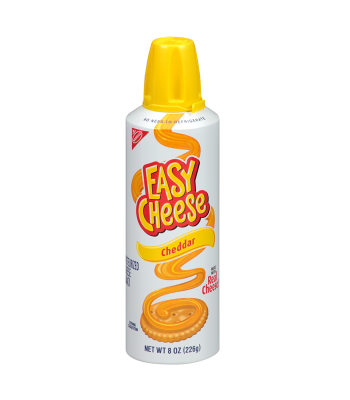 Easy Cheese - Cheddar 8oz (226g) Food and Groceries Easy Cheese