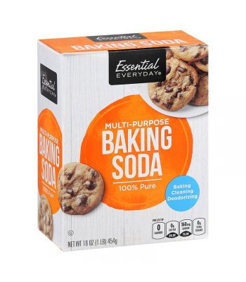 Essential Everyday 100% Pure Multi-Purpose Baking Soda - 16oz (454g) Food and Groceries