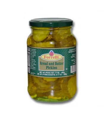 Forrelli Bread and Butter Pickles 17oz (482g)