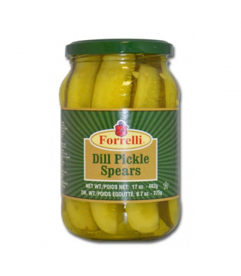 Forrelli Dill Pickle Spears 17oz (482g)