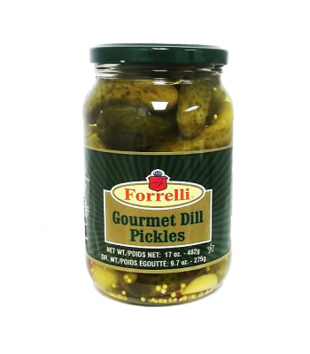 Forrelli Gourmet Dill Pickles 17oz (482g)