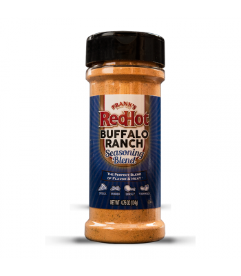 Frank's Red Hot Buffalo Ranch Seasoning - 4.75oz (134g) Food and Groceries Frank's