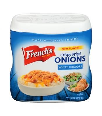 French's Fried Onion White Cheddar - 6oz (170g) Food and Groceries French's