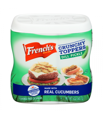 French's Dill Pickle Crunch Toppers - 5oz (141.7g) Food and Groceries French's