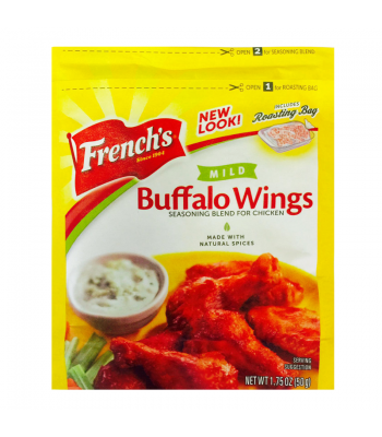 French's Mild Buffalo Wings Seasoning Blend For Chicken 1.75oz (50g) Spices & Seasonings French's